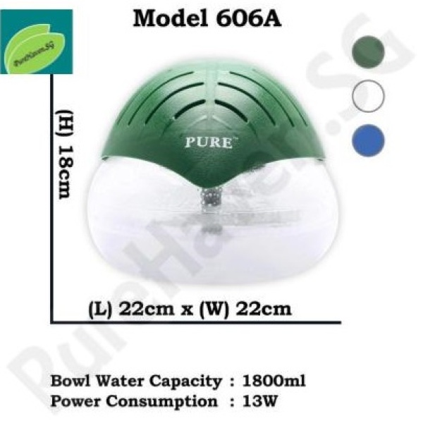 [BNIB] GOOD FOR HOME! Model 606A Water Air Purifier! 1800ml Singapore