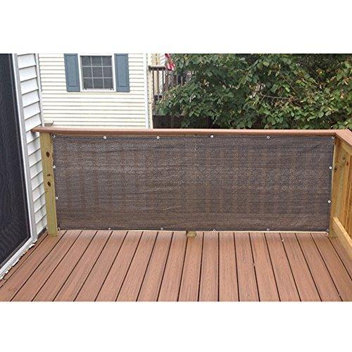 Privacy Screen for Backyard Deck, Patio, Balcony, Fence, Porch Coffee