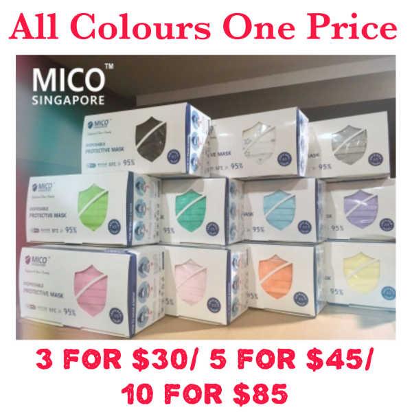 Buy Mico Mask 50pcs (Ready Stocks) (*BUNDEL DEAL DISCOUNT*) Singapore