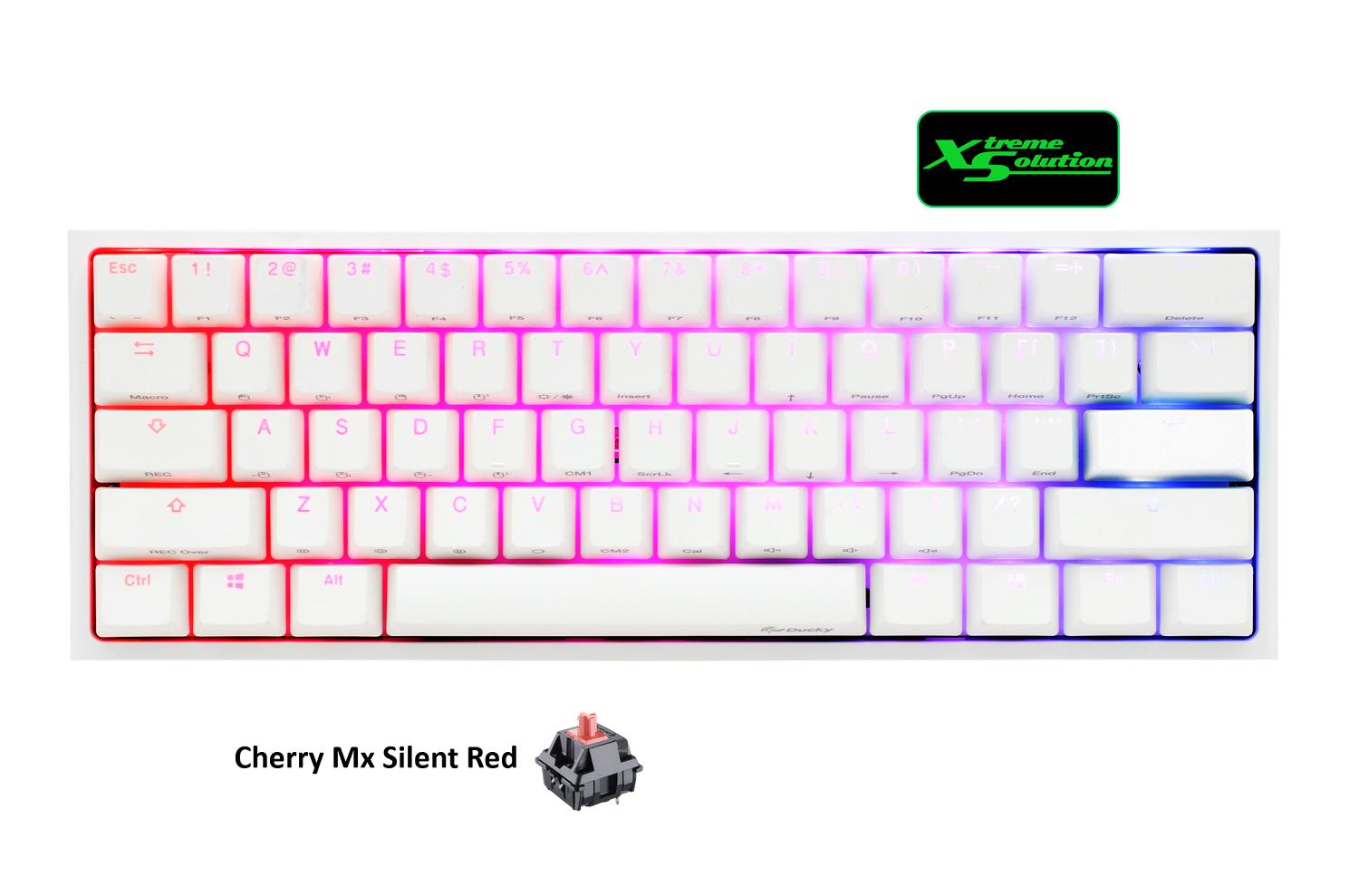 Ducky One 2 Mini RGB White Limited Edition Mechanical Keyboard