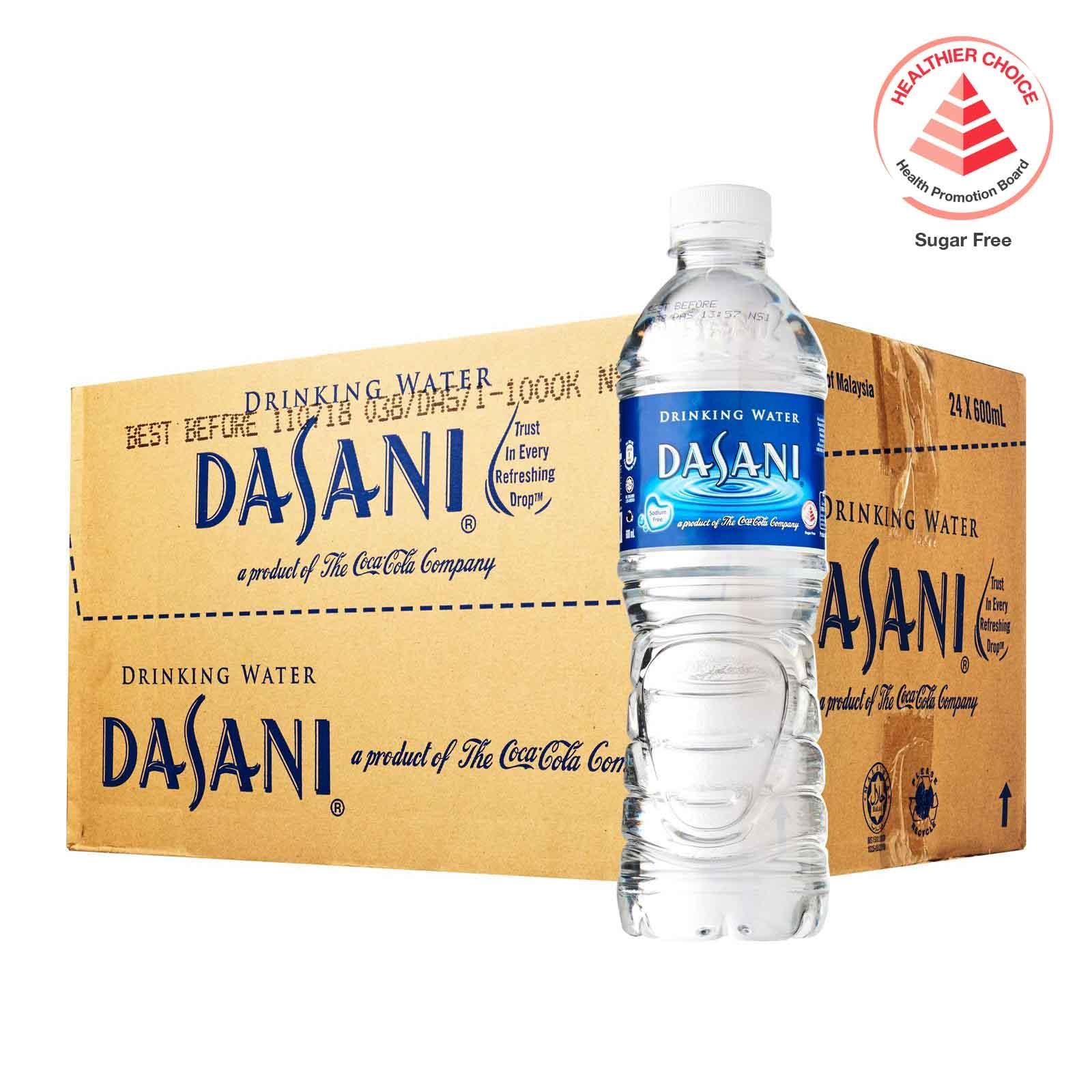 Dasani Drinking Water - Case