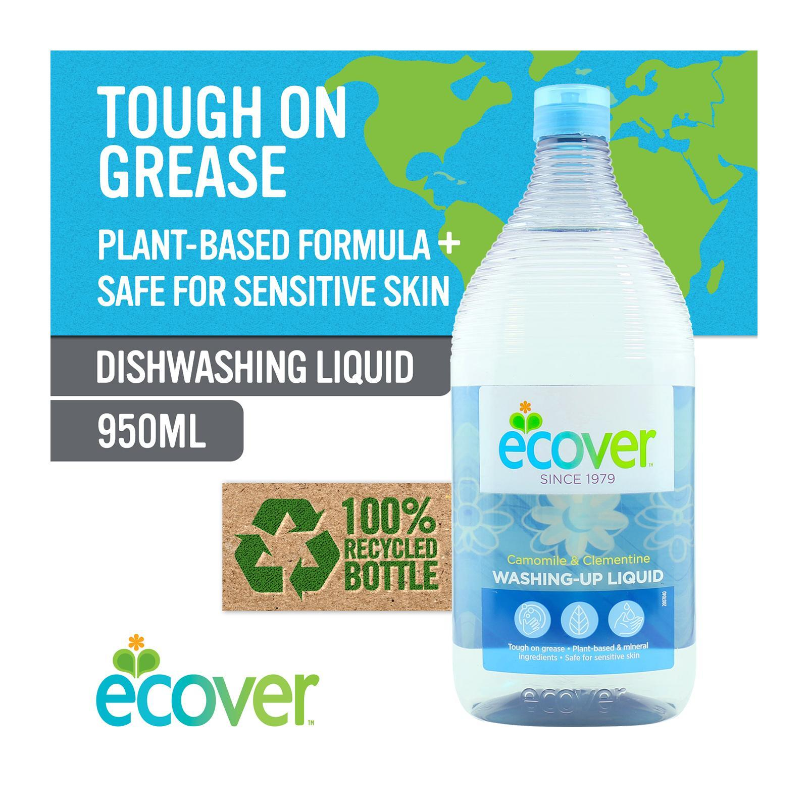 Ecover Washing Up Liquid Camomile And Clementine - By Corlison