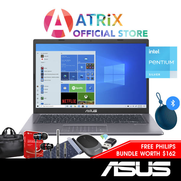 【Express Delivery】ASUS Vivobook 14 X series R465MA-EB356T | 14inch FHD IPS | Pentium® Silver N5030 | lit numberpad | 8GB DDR4 RAM | 256GB PCIe SSD | 1 Yr ASUS Warranty
