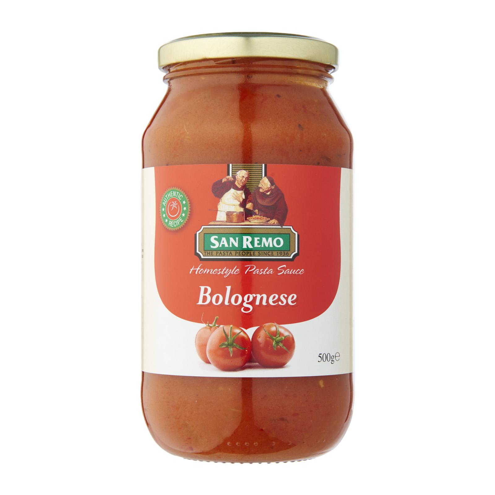 SAN REMO Pasta Sauce Napolitana 500g