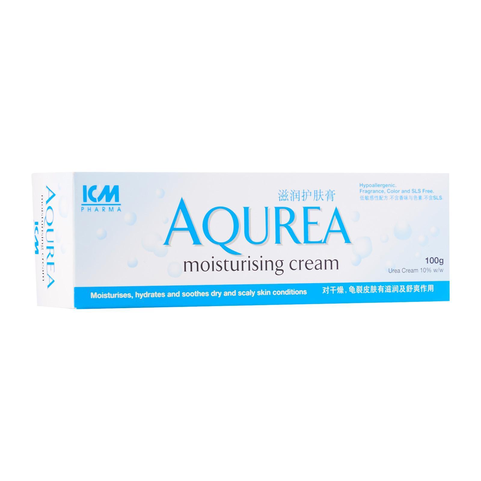 ICM Pharma AQUREA Moisturising Cream - By Medic Drugstore