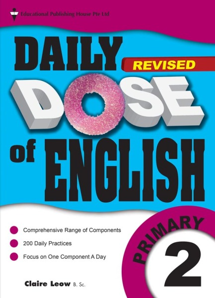 Primary 2 Daily Dose Of English / Primary 2 English Assessment Book(9789813128002)