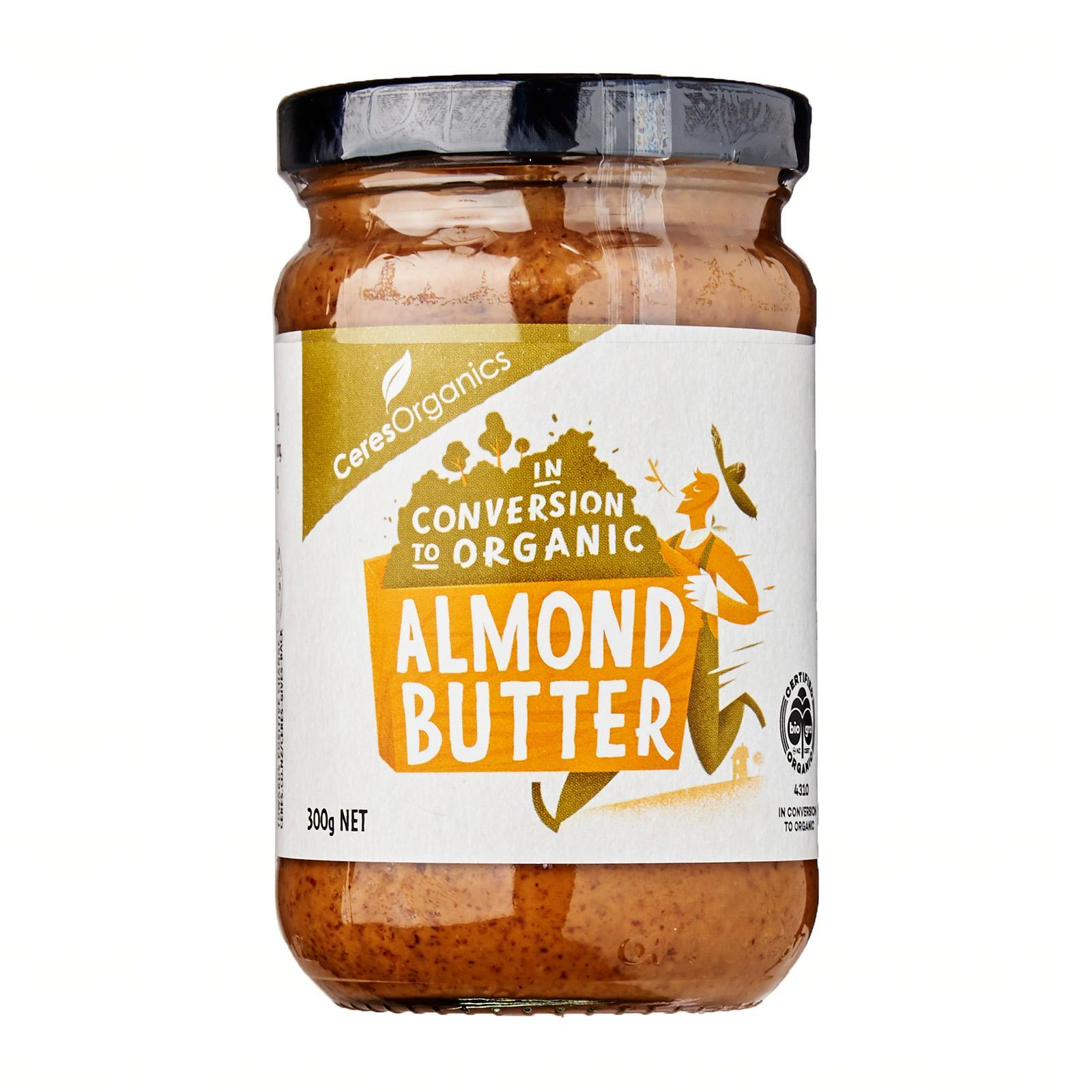 CERES ORGANICS Almond Butter - by Optimo Foods