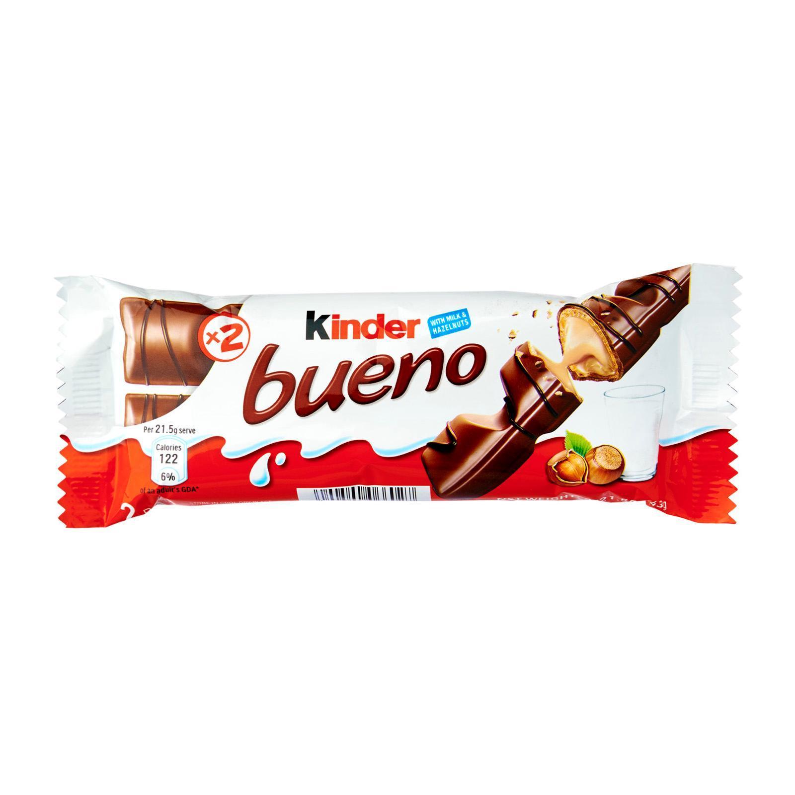 Kinder Bueno chocolate Wafer T2