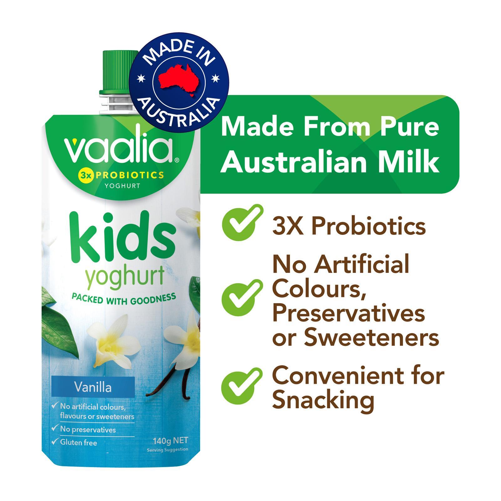 VAALIA Kids Yoghurt Vanilla 140g