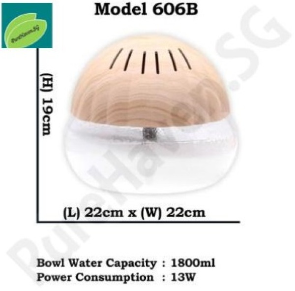 [BNIB] GOOD FOR HOME! Model 606B Water Air Purifier! 1800ml Singapore