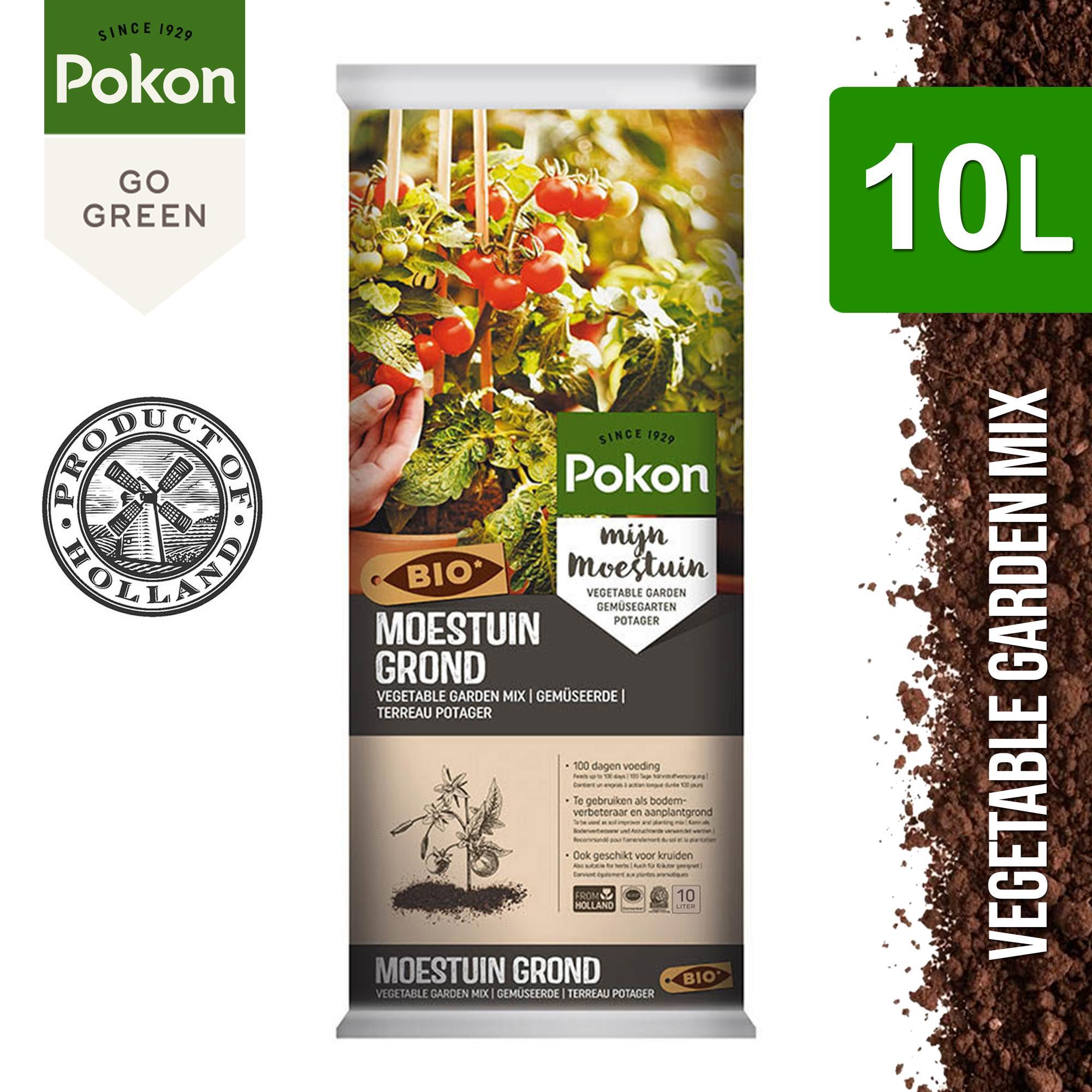Pokon Vegetable Garden Mix Organic Potting Soil (10L, 20L, 40L)