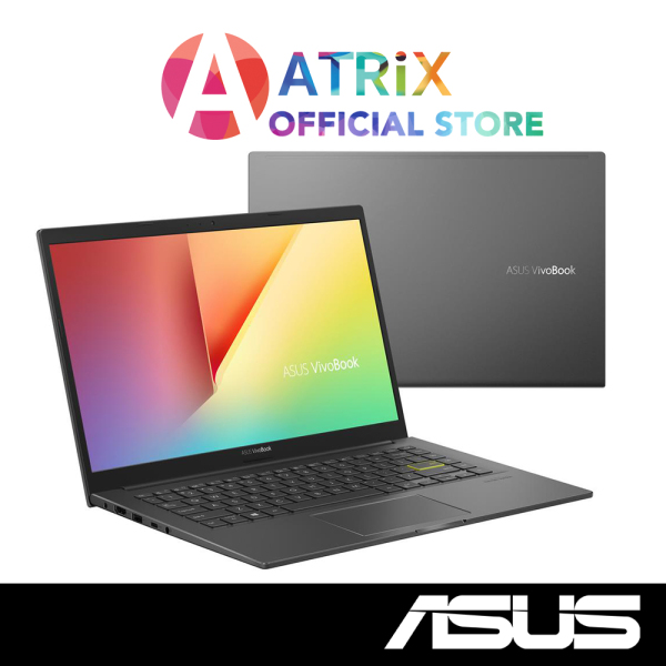 【Same Day Delivery】ASUS VivoBook 14 K413EP-EB190T | Ultra Slim-1.4Kg | i7-1165G7 | 16GB DDR4 | 512GB PCIe SSD | MX330 Graphics | Win10 Home | 2Y Asus Warranty