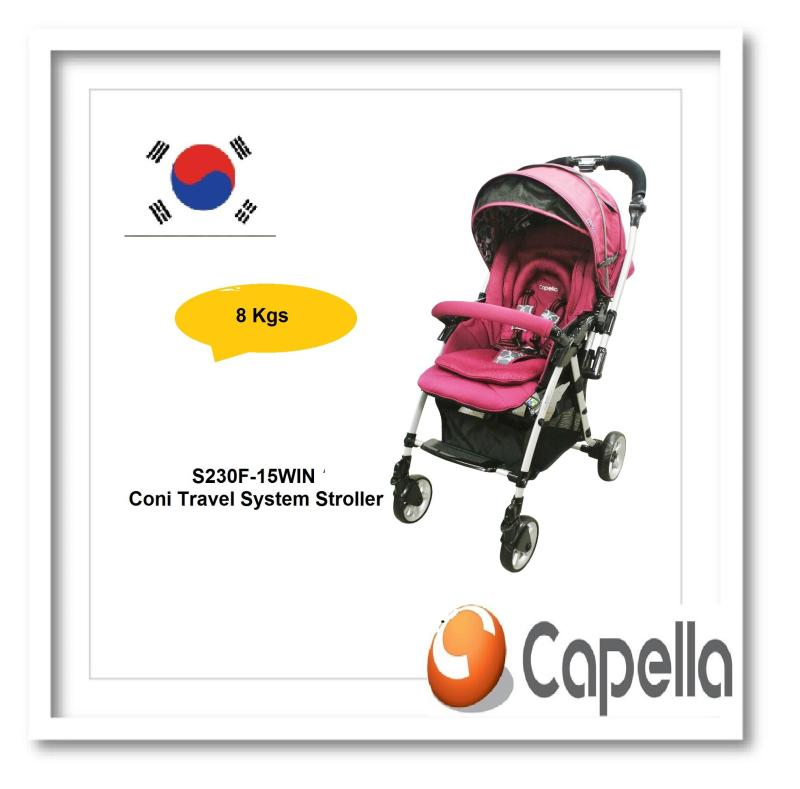 Capella® S230F-15WIN Coni Travel System Stroller Singapore