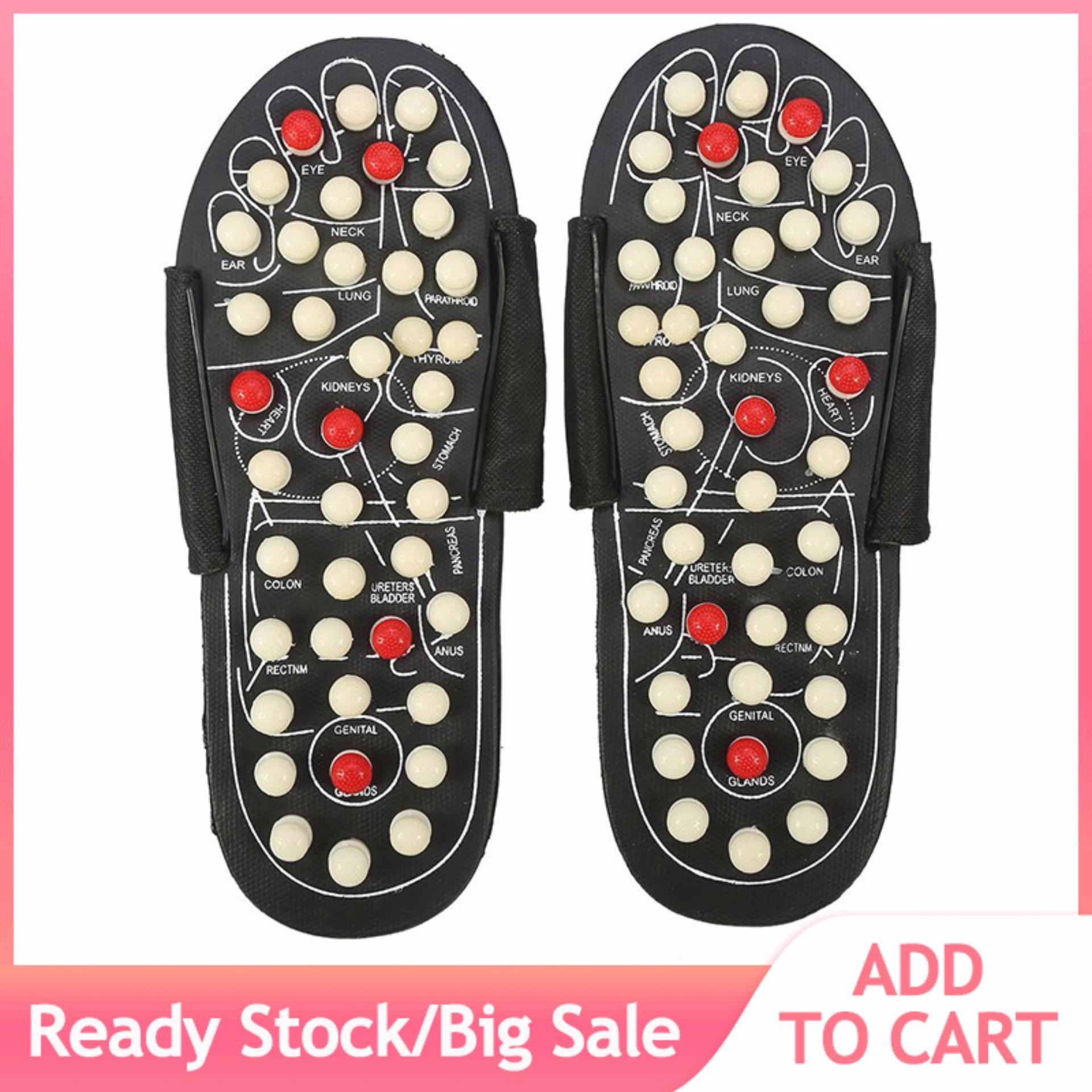 bc0b49a1c04f Magnet Therapy Foot Massager Shoes Health Care Massage Slippers (42-43  Rotating Dots)