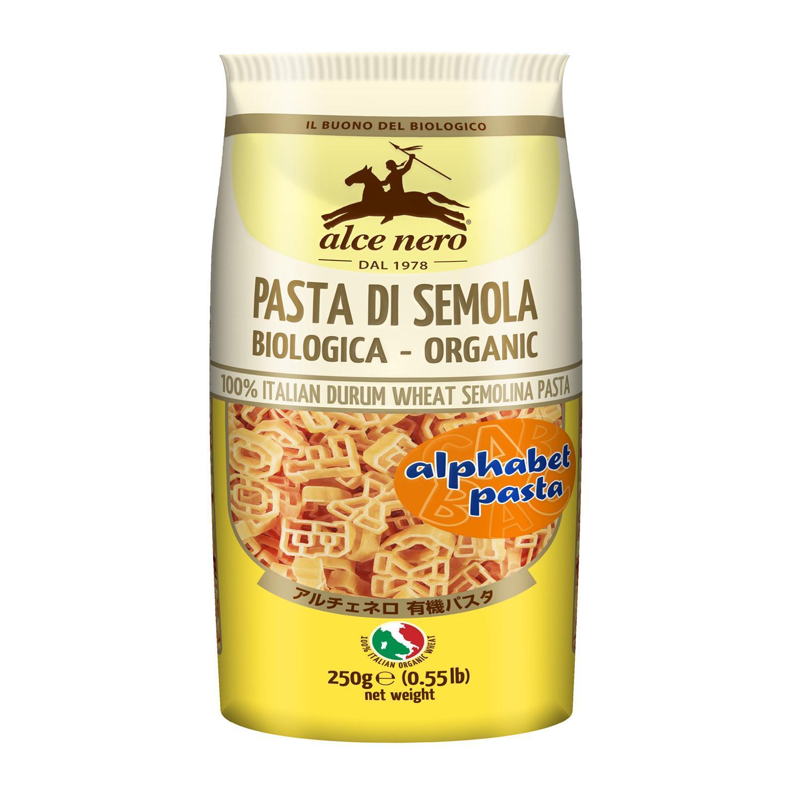 Alce Nero Organic Alphabet Pasta By Redmart.