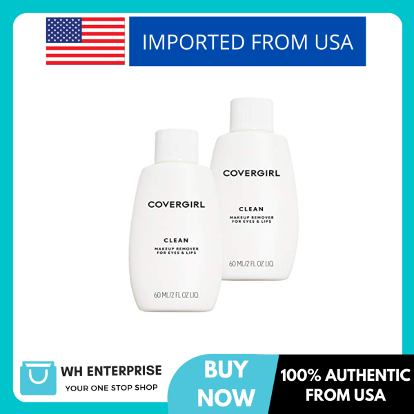 Buy Covergirl Clean Makeup Remover for Eyes & Lips, 2 Count Singapore