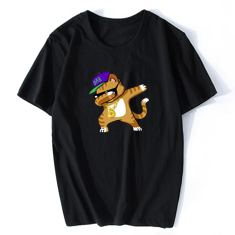 287e5b178 Voltreffer Dabbing Pug T-Shirt Cool Streetwear Men Funny T Shirts Dabbing  Horse/Dog