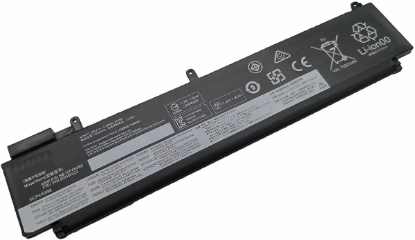Replacement  ThinkPad T460S T470S Series 24Wh 11.25V Laptop Battery Compatible With 00HW036, 00HW037, SB10F46460, SB10F46461, SB10F46474, SB10F46475