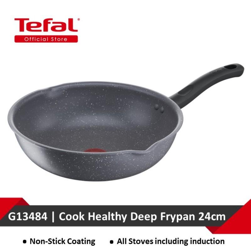 Tefal Cook Healthy Deep Frypan 24cm G13484 Singapore