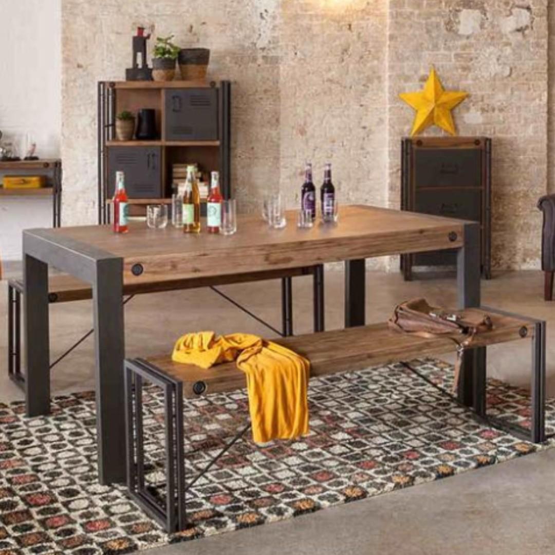 TSDT 00K Solid wood Dining Bench(L180*W30*H45cm)