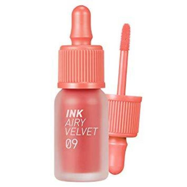 Buy Peripera Ink Airy Velvet Tint 4g #09 100Point Coral Singapore
