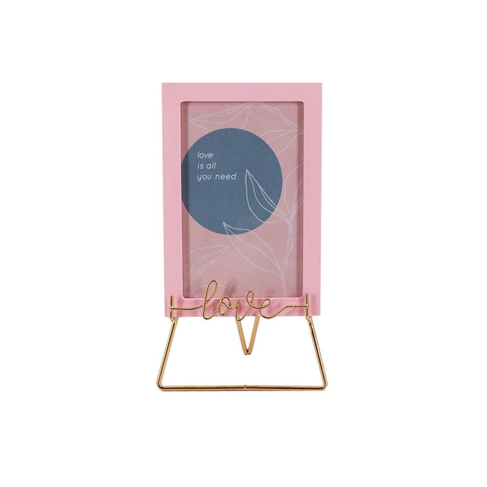 Home, Love Photo Frame on Easel Maison Blush Collection
