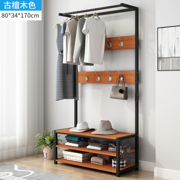 Multi-function Clothes Rack Living Room Clothes Storage Rack Modern Wardrobe