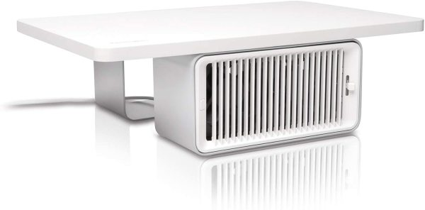 Kensington Cool View Wellness Monitor Stand with Desk Fan (K55855WW)