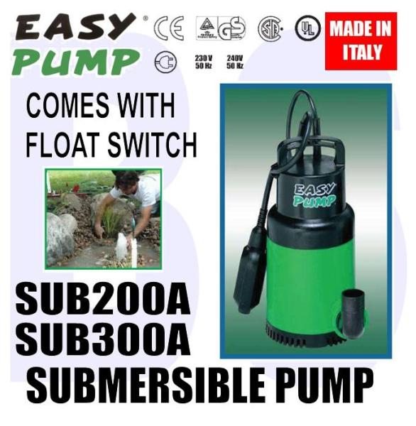 [BIRTHDAY SALE] BANSOON EASYPUMP SUB Series Multi-Purpose Submersible Pump. Pond. Water Feature. Small Irrigation. Clean Water Pump.