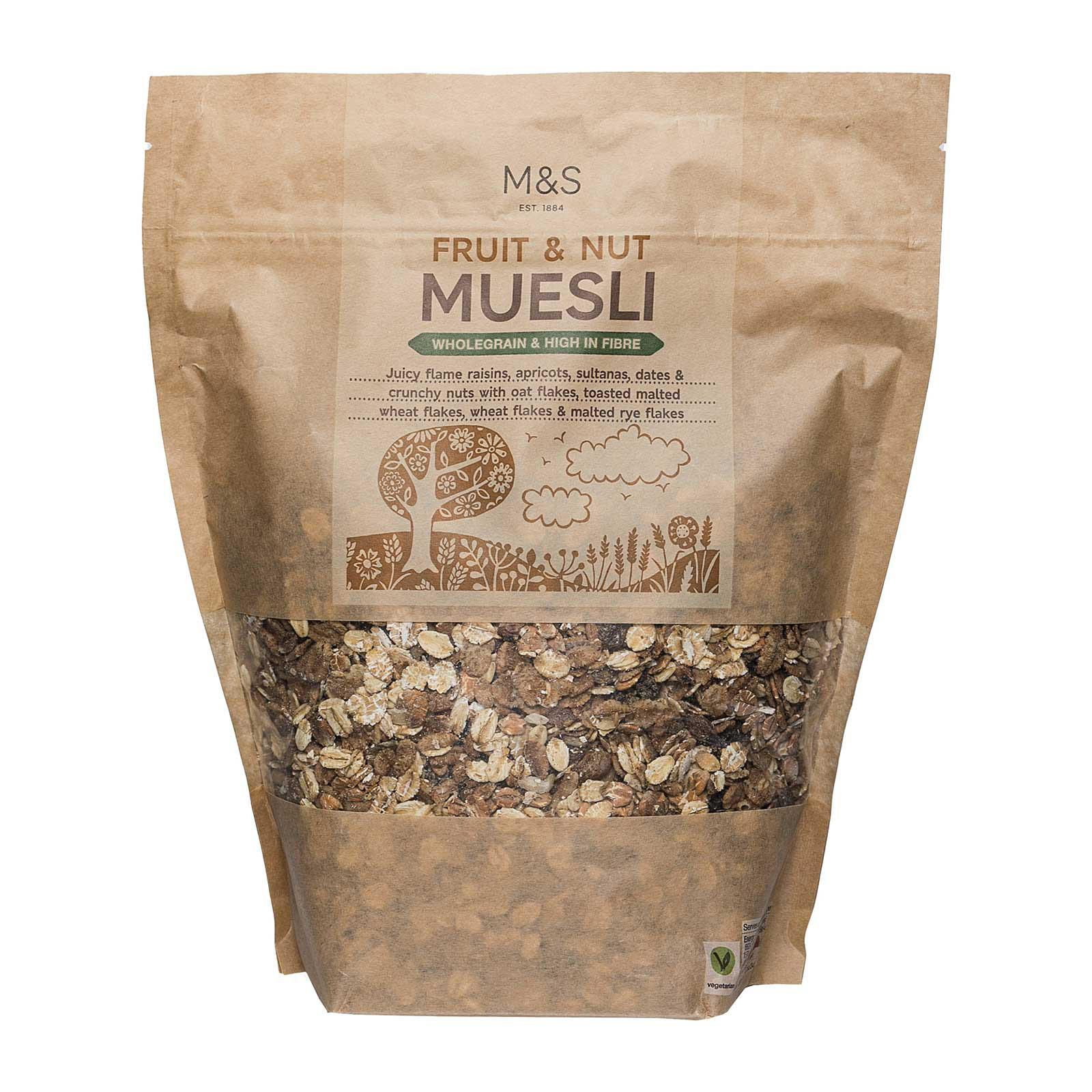 Marks & Spencer Fruit and Nut Muesli