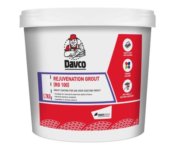 Davco Rejuvenation Grout (RG100) 1.7kg Ivory Pearl