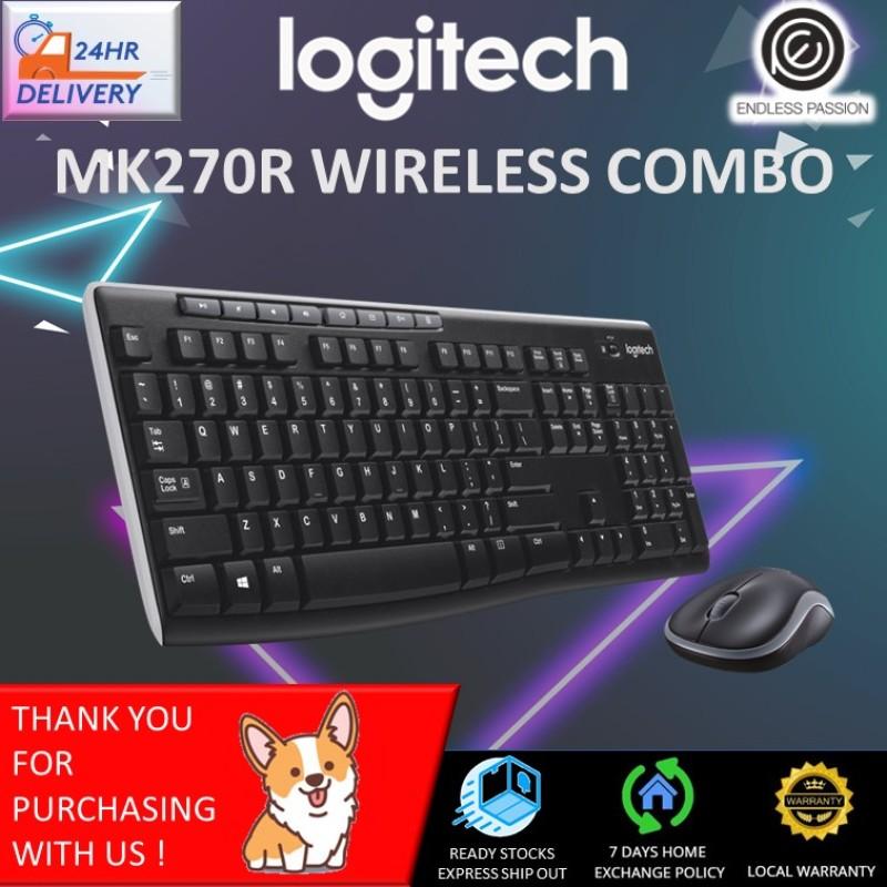 Logitech MK270R Wireless Combo Singapore