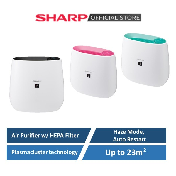 SHARP Plasmacluster Air Purifier FP-J30E with indicator | HEPA filter | Room size up to 23metresq | Quiet (25dB) Singapore