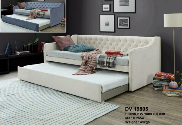 Single Fabric Pull-out Daybed