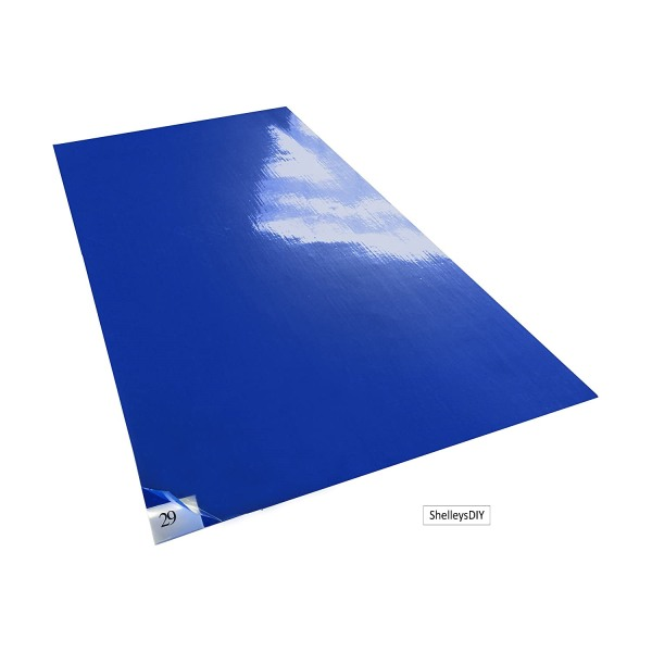 30 Sheets (Ready Stock in SG) Anti-Bacterial Ducts Remover Floor Sticky Mats - Blue 600MM X 900MM -Covid 19