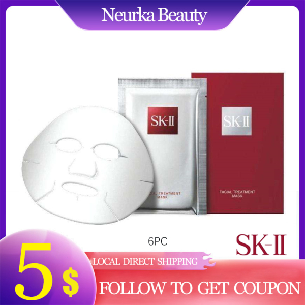 Buy SKII Facial Treatment Mask 6pc [Luxury Beauty (Skincare - Mask) SK-II| Piteria | Brand New 100% Authentic] [SK2 | SKII] Singapore