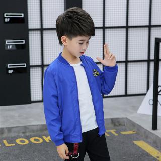 Cậu Bé Áo Jacket 2020 Mẫu Mới Thông Dụng Trẻ Em Mùa Xuân Thu Con Trai Áo Bóng Chày Học Sinh Mùa Thu Học Sinh Tiểu Học Áo Khoác Thủy Triều thumbnail