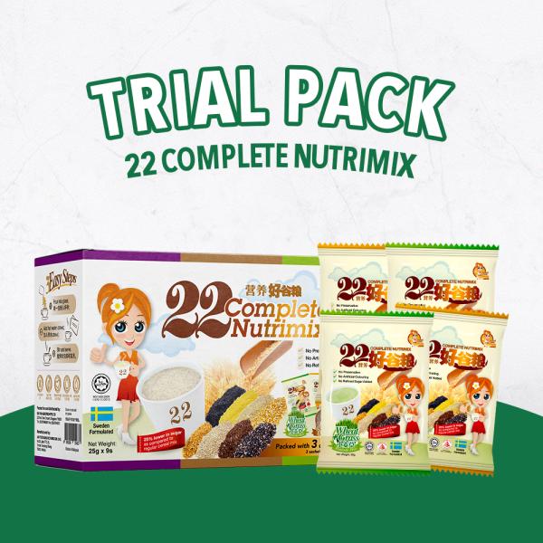 Buy [TRIAL PACK] GOOD LADY 22 COMPLETE NUTRIMIX (3 Mix Flavours) - 25g x 9sachets Singapore
