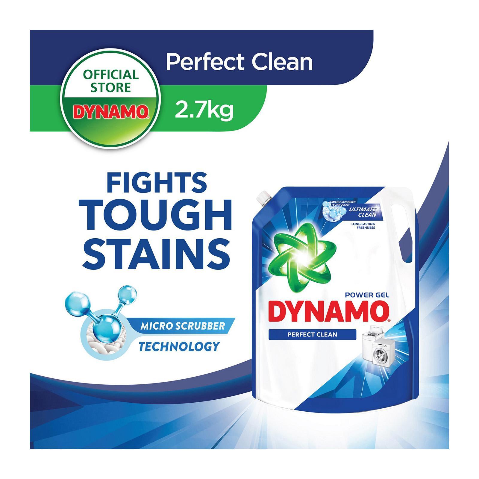 Dynamo Power Gel Regular Laundry Detergent Refill 2.7KG