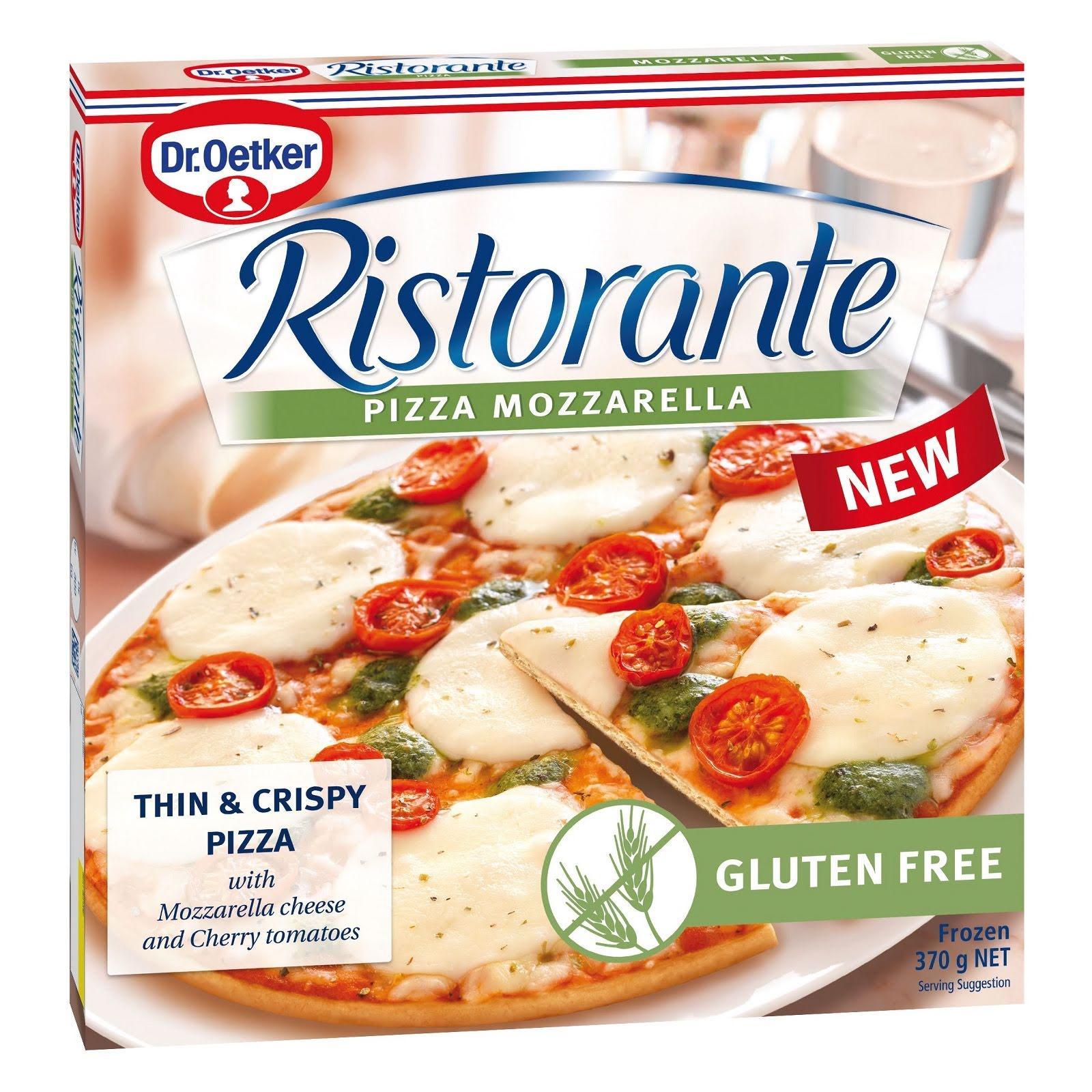 Dr Oetker Ristorante Mozzarella Gluten Free Pizza - Frozen