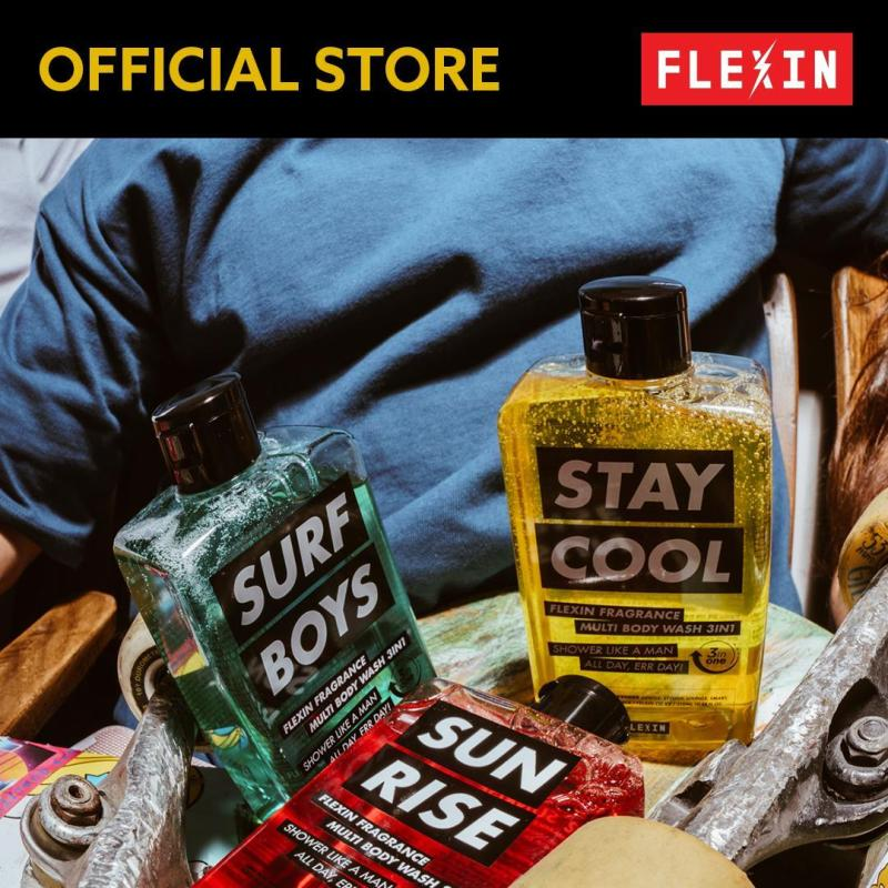 Buy (FLEXIN Official) 3-in-1 Multi Body Wash SET Singapore