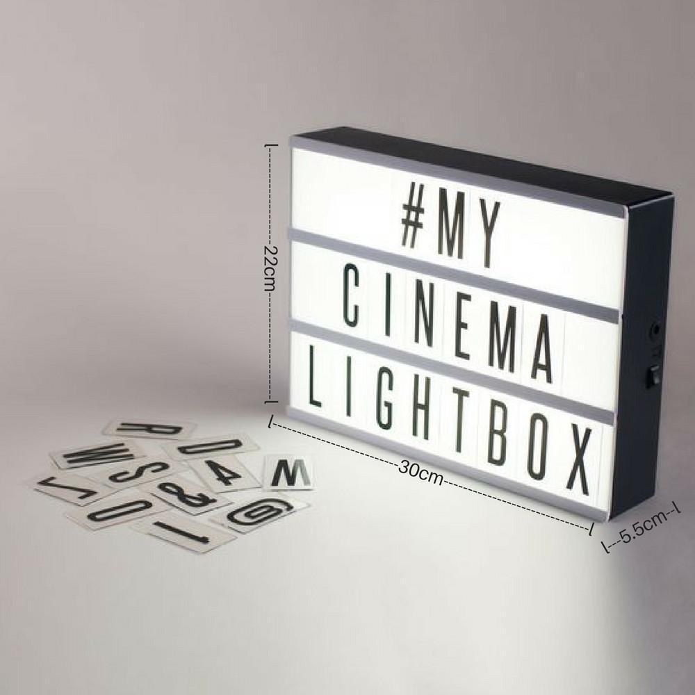 Shoppy DIY Cinema Light Box (Pink frame)