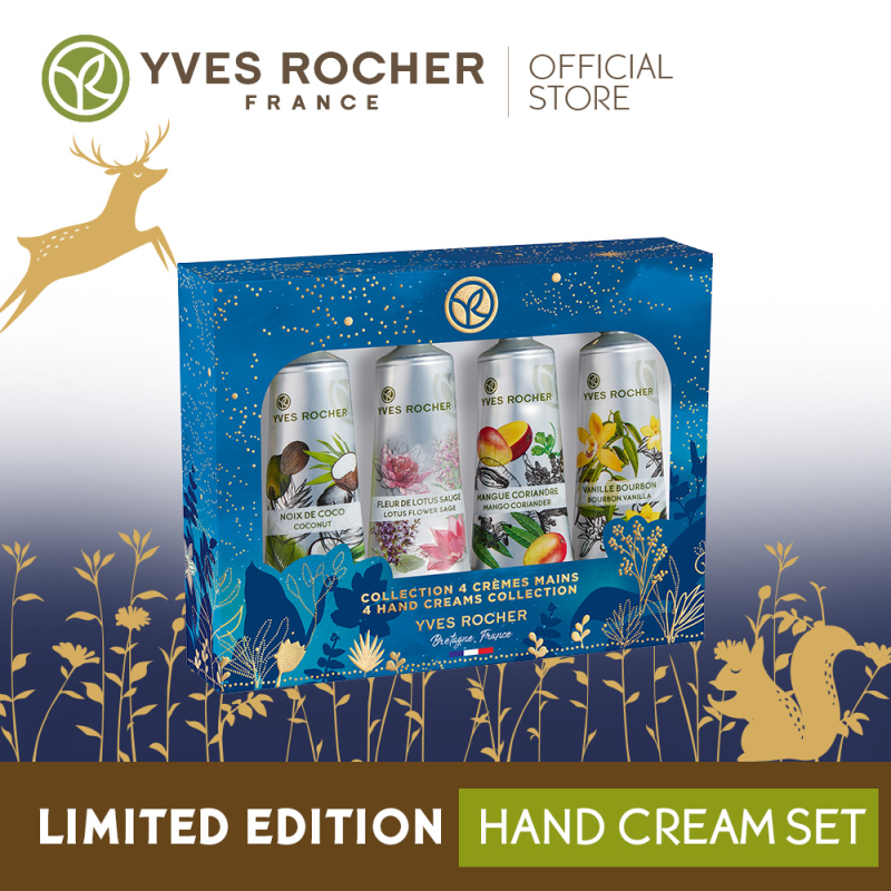 Buy Yves Rocher Plaisirs Nature Hand Cream Kit Singapore