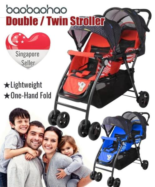 Twin / Double Stroller Singapore
