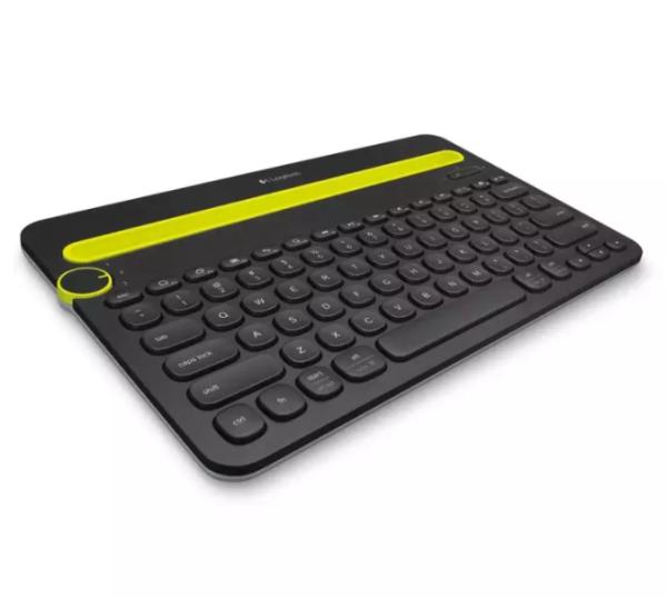 Logitech K480 Multi-Device Wireless Bluetooth Keyboard Portable Keypad for Laptop / Tablet Singapore