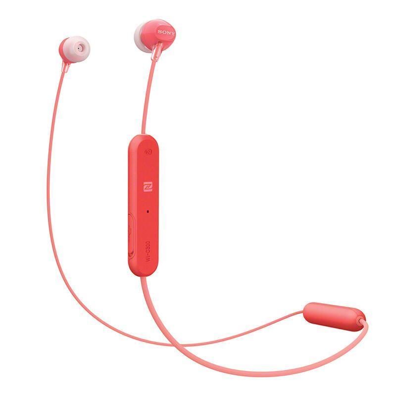 Sony/Sony WI-C300 In-ear Wireless Bluetooth Headset Dual Handle Pendant Version Halter Sports Running Earplug Singapore