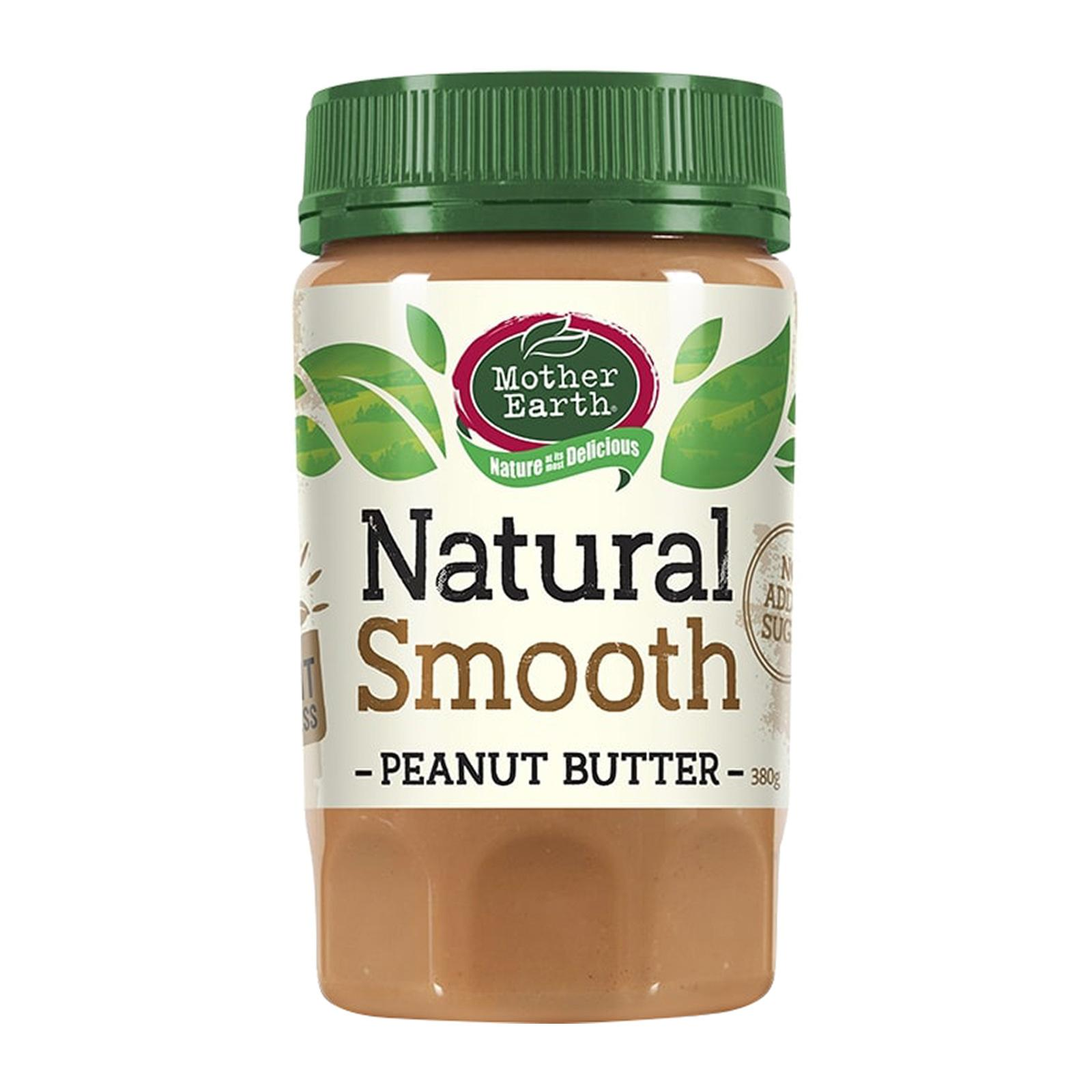 Mother Earth Peanut Butter Smooth - by Optimo Foods