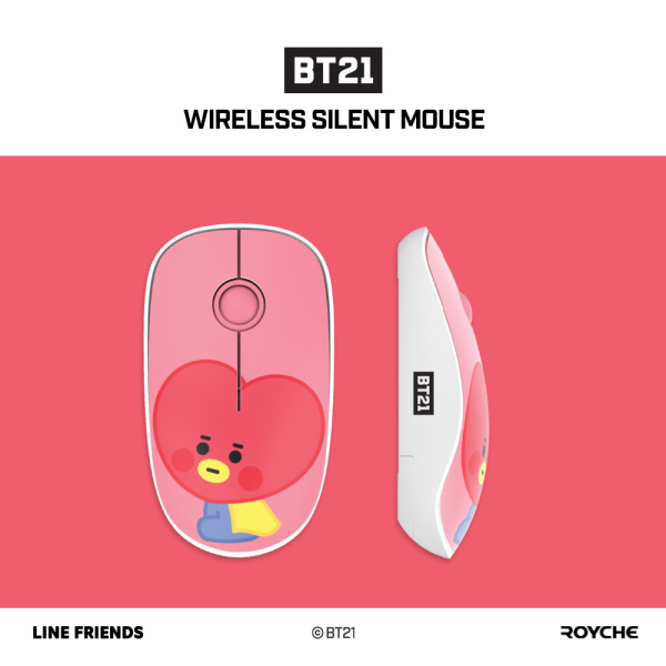 ♥ON STOCK♥ BT21 Baby Wireless Silent Mouse by Royche
