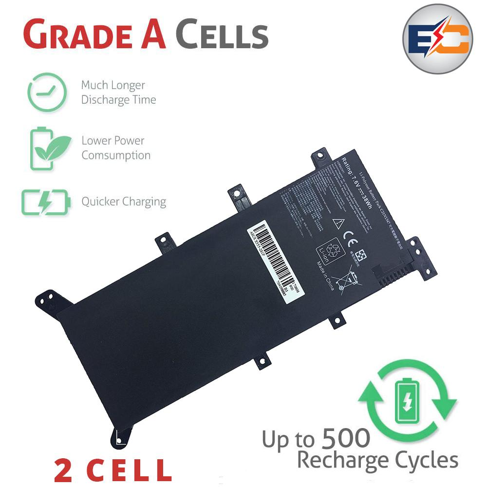 [SG Seller] Replacement Laptop Battery Asus X555-2S1P Compatible With Asus X555 X555L X555LA X555LB X555LD X555LF X555LI X555LJ X555LN X555LP Series