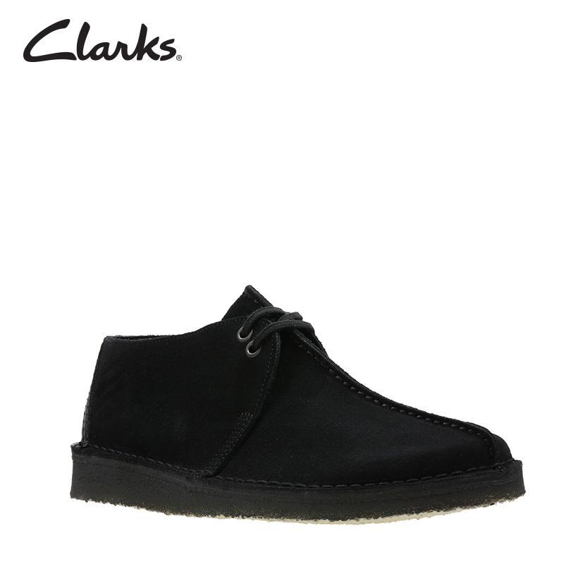 7abcafa870e Clarks Desert Trek Black Sde Mens Shoes Clarks Originals